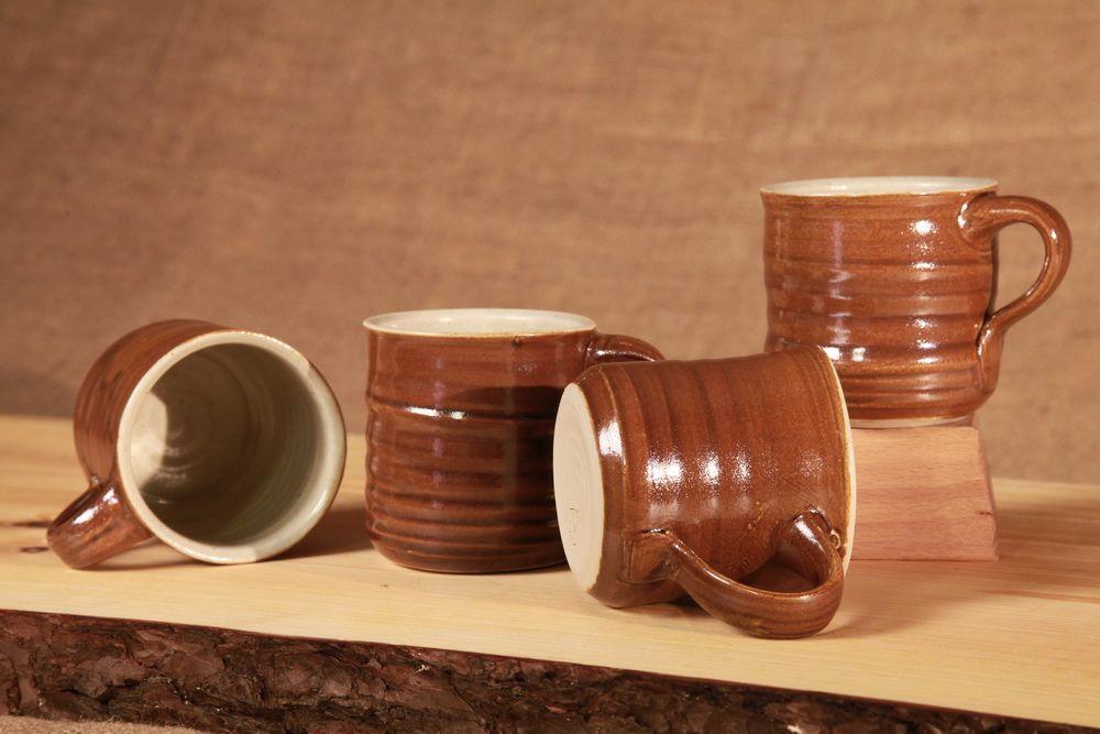 kaffeetasse aus ton rustikal im aussehen modern im gebrauch f r haushalt und gastronomie vom. Black Bedroom Furniture Sets. Home Design Ideas