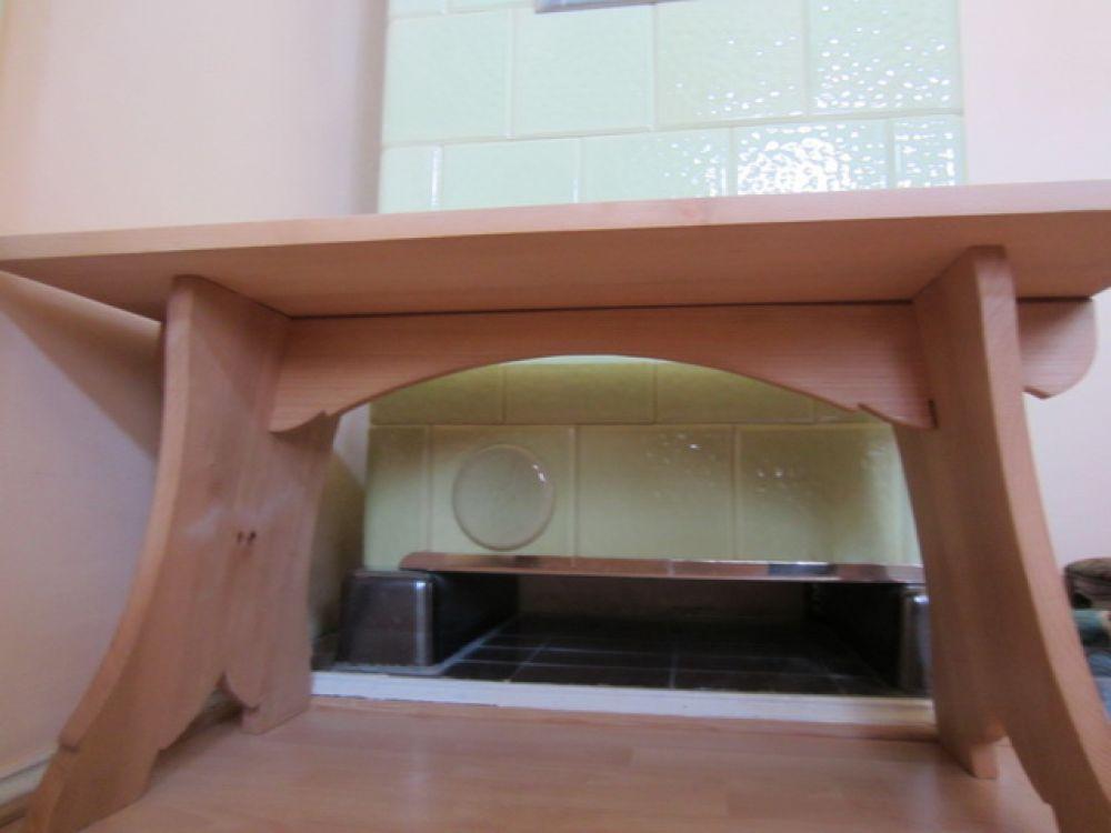 breite ofenbank buche esche spiel holz. Black Bedroom Furniture Sets. Home Design Ideas