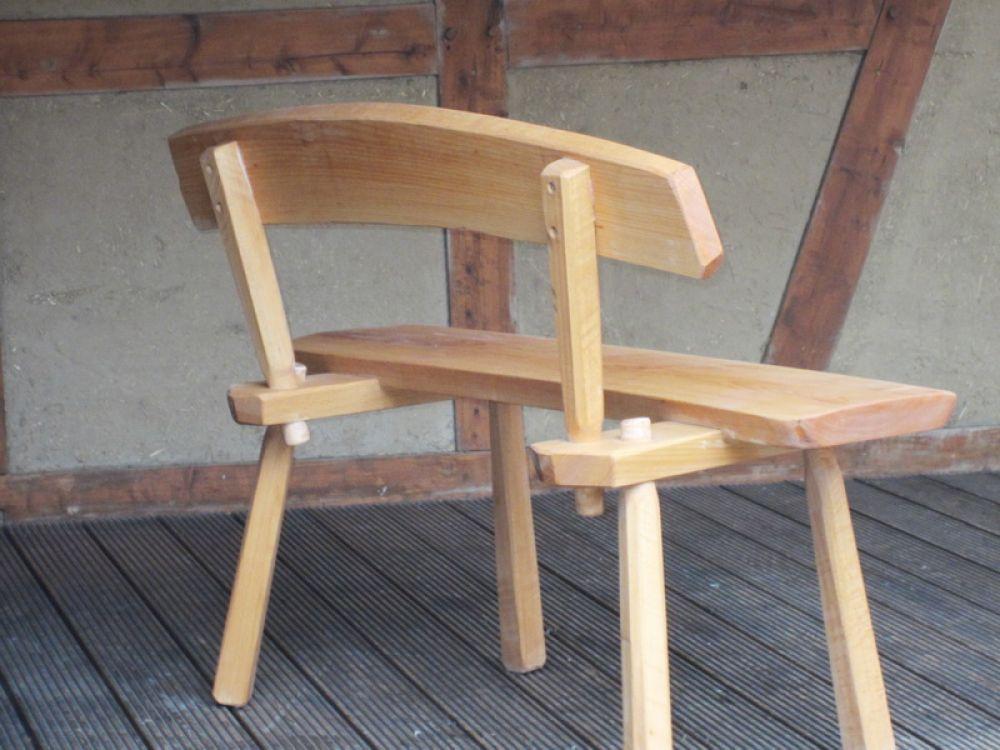 holzbank ohne lehne rustikal 125656 eine. Black Bedroom Furniture Sets. Home Design Ideas